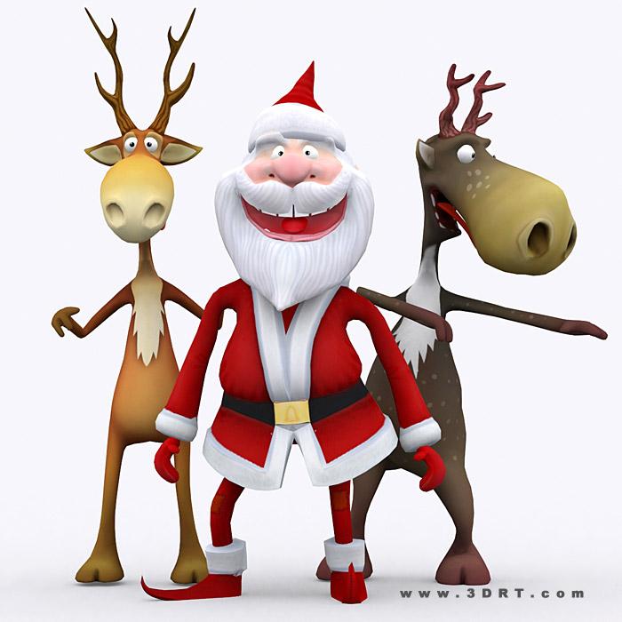 crazy-santa-raindeers-3d-animated-lowpoly-3d-character_01